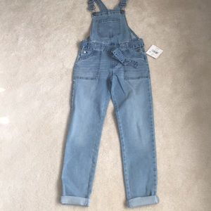 NWT girls 7/8 overalls